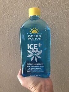 Ocean Potion Ice+ Skin Repair Soothing Gel, 20.5 Ounce