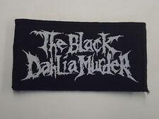 THE BLACK DAHLIA MURDER WOVEN PATCH