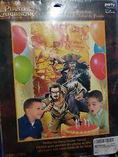 Disney Pirates of the Caribbean Birthday Party Backdrop Wall Hanging Decor pics