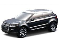 Land Rover Lrx (Evoque) 2010 - Black   1/43  By burago Model Car refZ116