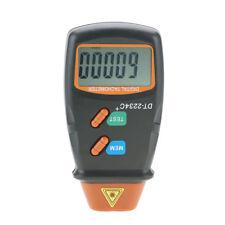 DT-2234C+ Non-Contact Digital LCD Laser Photo Tachometer Mini RPM Tester Meter