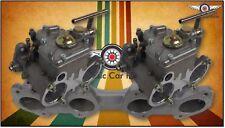 Twin 45 FAJS DCOE sidedraft carburetor full set Datsun L16 L18 L20 Weber Type