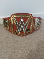 WWE Universal Championship Replica Belt - Seth Rollins Side plates