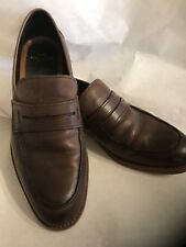 "Men's Coach Smooth Brown ""Allen"" Slip-on Loafer"