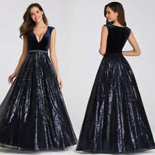 Ever-Pretty V-neck Long Evening Prom Ball Gown A-line Cocktail Party Dress 07840