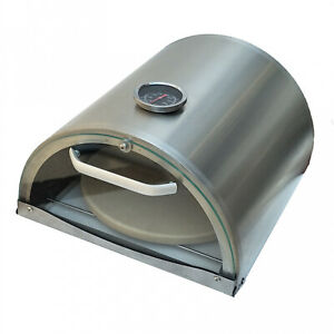 Natural Gas Pizza Oven Stainless Steel Countertop