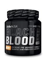 BioTechUSA Black Blood NOX+ Pre-Workout Trainingsbooster Booster 330g + BONUS