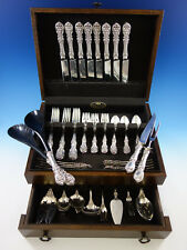 Francis I by Reed & Barton Old Sterling Silver Flatware Set Service 54 pc Dinner