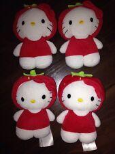 1 Pièces h&m hello kitty rouge boucle Fraise Costume animal en peluche doudou Domestique