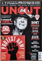 UNCUT Magazine #237 Feb 2017 features Leonard Cohen with Protest Now! CD