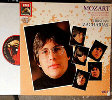 MOZART KLAVIERSONATEN VOL 5 PIANO SONATAS No 10, 15, 18 CHRISTIAN ZACHARIAS LP