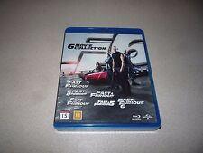 FAST & FURIOUS : 1 - 6 MOVIE COLLECTION BOX SET - BLU-RAY 6 DISCS