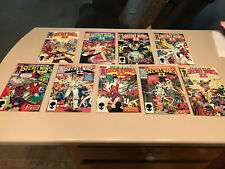 Secret Wars II Complete 1985 Set 1-9,  Marvel Comics Fine