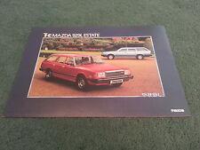 Décembre 1980/MAZDA 929 L 1981 2000 Estate-Royaume-Uni Couleur dossier de brochure