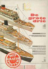 Léon Schuijt - A 41 - De grote drie (Oranje, Willem Ruys, Nieuw Amsterdam) 1:700