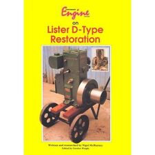 Lister D Restoration Book - Full Detailed Rebuild, Refurbishment