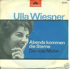 "ULLA WIESNER - ABENDS KOMMEN DIE STERNE 7"" (S2114)"