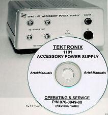Tektronix Tek 1101 Accessory Power Supply, Instruction Manual w/schematics