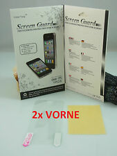 2 x IPHONE 5 / 5S / 5 S PELÍCULA DE PANTALLA 2x delant. PROTECTORA