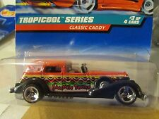 Hot Wheels Classic Caddy Tropicool Series Red Jammin Tours