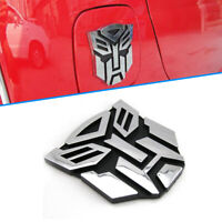3D Logo Protector Autobot Transformers Emblem Badge Graphics Car Decal Sticker