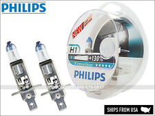 NEW Authentic Philips X-treme Vision H1 +130% 12258XV+S2 Halogen Headlight bulbs