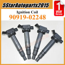 4x Ignition Coil 90919-02248 for Toyota Tacoma Tundra Scion xB Lexus GSF ISF RCF