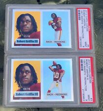 Robert Griffin III lot of two PSA 9 rookie cards limited edition REFRACTORS 1957