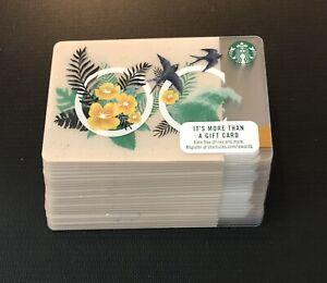 2017 Starbucks Orange County OC Cards - Lot of 25