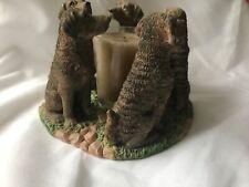 Chesapeake Bay Retriever Vogul Candle Holder Vintage
