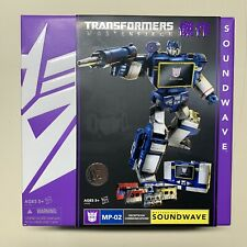 Hasbro Transformers Masterpiece MP-02 Decepitcon Communications Soundwave, Brand