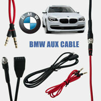 AUX cable adaptador de audio para BMW E46 98-06 Conector hembra montable 3,5mm