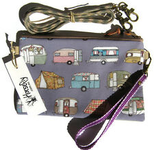NEW Tent Caravan Tobacco pouch bag wristlet purse handmade in Australia HORSEFLY