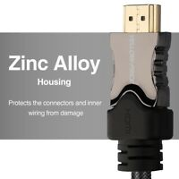 PREMIUM V2.0 / V2.1 HDMI Cable Cord - Ultra HD TV with 120Hz 8K / 4K ARC / eARC