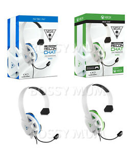 Turtle Beach Recon Chat Gaming Headset MIC Headphones PC Laptop PS5 PS4 Xbox UK