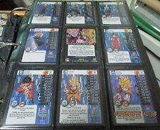 Dragonball Z DBZ TCG Panini Starter Deck Evolution Booster Foil Set Full S1-S30