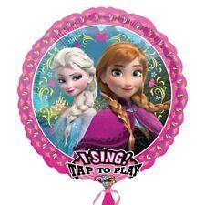 "Disney Frozen Birthday Party Sing-a-Tune 28"" Round Foil Balloon"