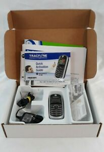 Motorola C139 TracFone Cell Phone Black Prepaid No Contract