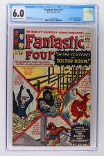 Fantastic Four #17 - Marvel 1963 CGC 6.0 Doctor Doom Appearance. President John