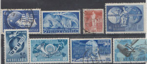 UPU 1949.W & E Germany, Italy, Bulgaria,Luxembourg,Belgium & Belg Congo W Berlin