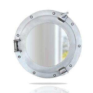 """AL 4870 - 11"""" Nautical Porthole Mirror Nautical Ship Decor"""