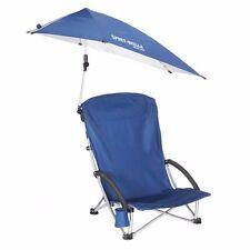 SPORT-BRELLA BEACH CHAIR BLUE Umbrella Shade Sun Pool Fishing Camping Sport
