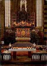 Religion Motiv-Postkarte Hochaltar Altar der Pfarrkirche Kirche in SCHWAZ color