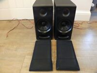 Pair Technics SB-CH7 Hi Fi Speakers Bi-Wireable 2 Way Quality Sound Japan Made