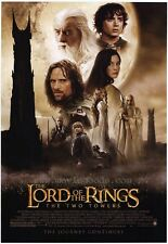 LORD OF THE RINGS: THE TWO TOWERS Movie POSTER 27x40