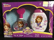 Disney Junior Sofia Eau de Toilette Box Set 3.4 Oz Spray 10.02 Shower Gel NEW