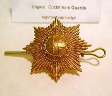 COLDSTREAM GUARDS ARMY COPS MILITARY BRITISH ARMY METAL REGIMENT CAP BADGES