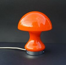 Mid Century Modern Atomic Age Space Age European Art Glass Mushroom Desk Lamp