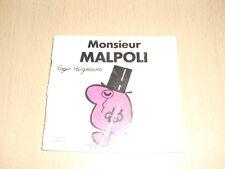 "Monsieur MALPOLI  Roger Hargreaves Collection ""Bonhomme"""