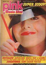 Pink & Music Star Magazine 3 May 1975 No 110     Alvin Stardust     Kenji Sawada